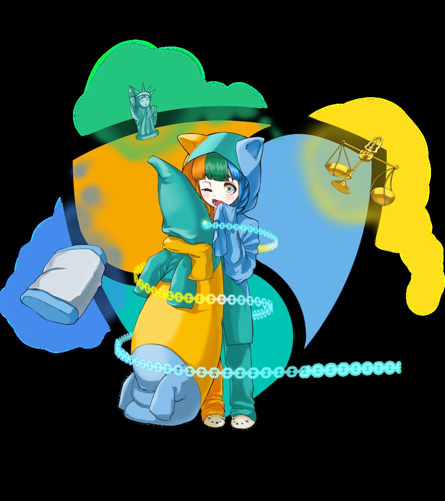 仮想通貨(暗号通貨)ネム(nem)の擬人化キャラクター