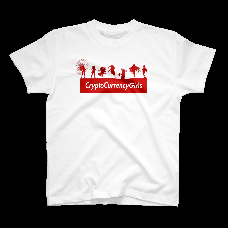 仮想通貨ボックスロゴTシャツ