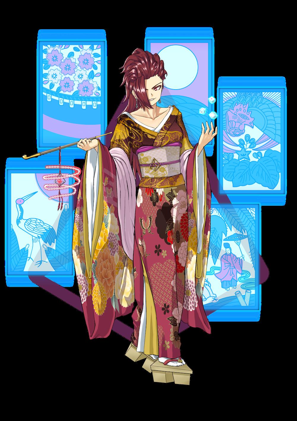 仮想通貨(暗号通貨)オーガー(augur)の擬人化キャラクター