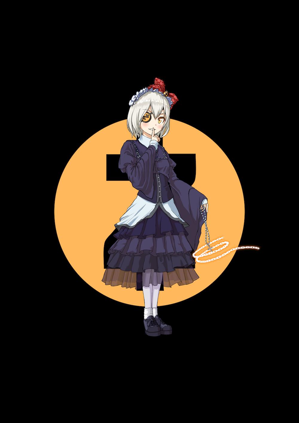 仮想通貨(暗号通貨)ジーキャッシュ(zcash)の擬人化キャラクター