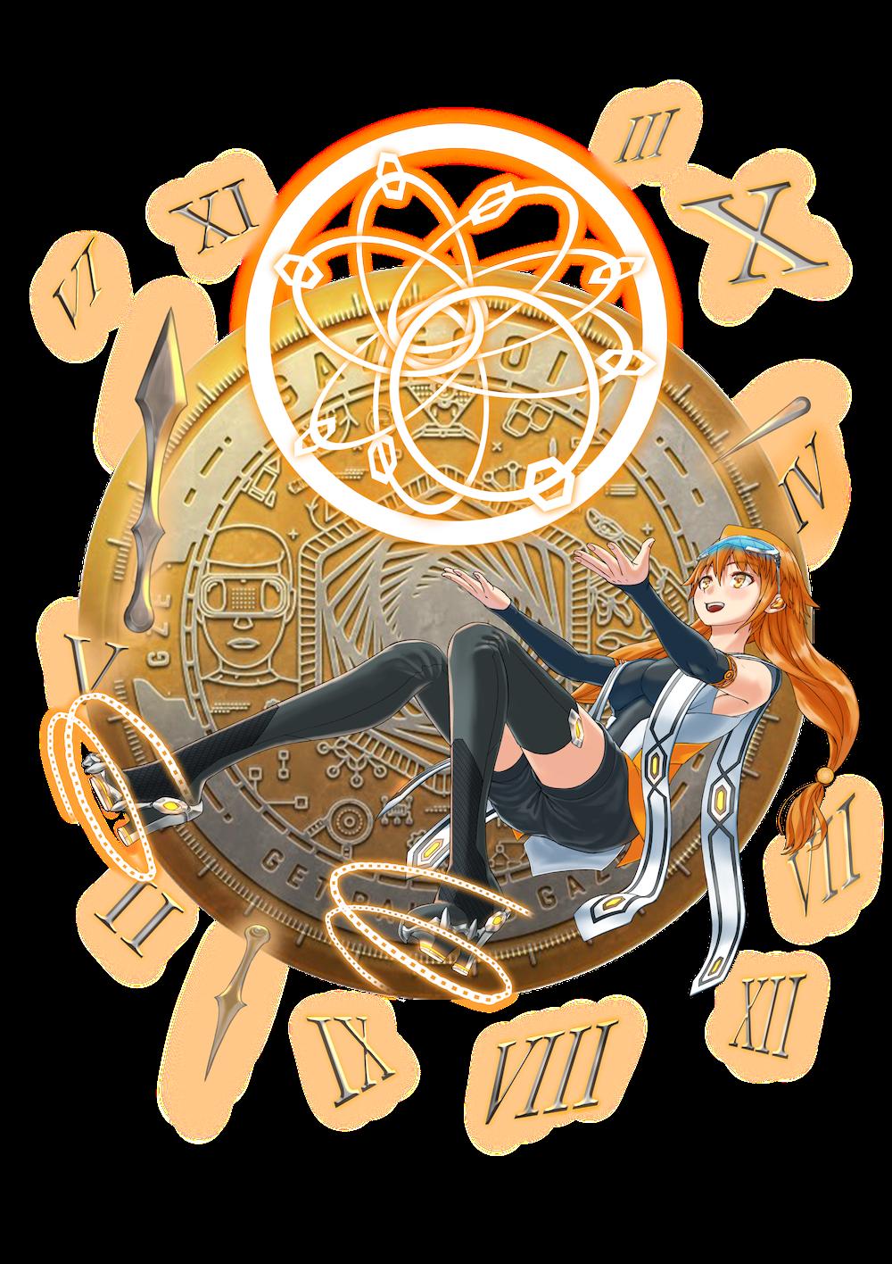 仮想通貨(暗号通貨)ゲイズコイン(GazeCoin)の擬人化キャラクター