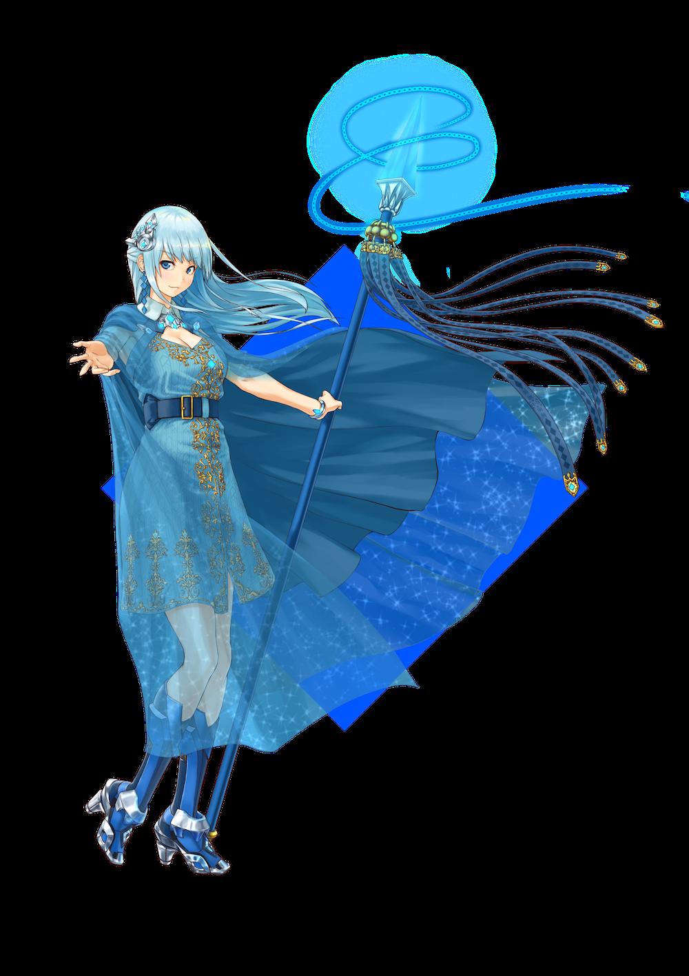 仮想通貨(暗号通貨)ウェーブス(waves)の擬人化キャラクター